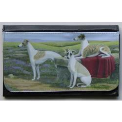 Whippet Picture Wallet #4
