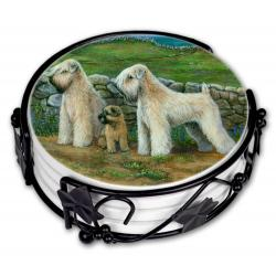 Wheaten coaster set