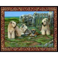 Wheaten 2 Single Tapestry Placemat