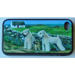 Wheaten Terrier Picture iPhone-4 Cover #3