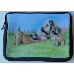 Wheaten Terrier Picture Netbook Sleeve #4