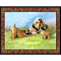 Wheaten 4 Single Tapestry Placemat