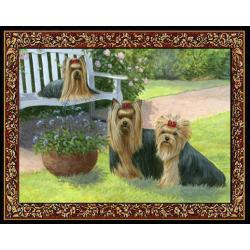 Yorkshire Terrier 1 Single Tapestry Placemat