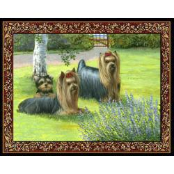 Yorkshire Terrier 2 Single Tapestry Placemat